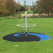 <p>Poured-in-Place is an impact absorbing playground safety surface composed of a blended compound which, when cured, forms a contininuous and seamless playground surface. TPV adds vibrant colour options.</p>