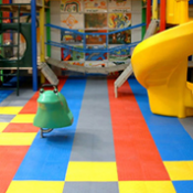 <p>Play Matta&trade; Kidz&trade; tiles provide versatile safety flooring with lightweight tiles</p>