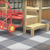 <p>Play Matta&trade; is a fun and safe surface to play on; but its benefits extend well beyond the surface. Patented tile welding system*, ensures installation remains secure. A quality product protecting your playground investment.</p>