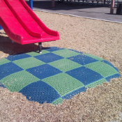 <p>The Play Matta&trade; Scuff Pad System provides cost-effective and low maintenance surfacing for playground areas where it is needed most.</p>